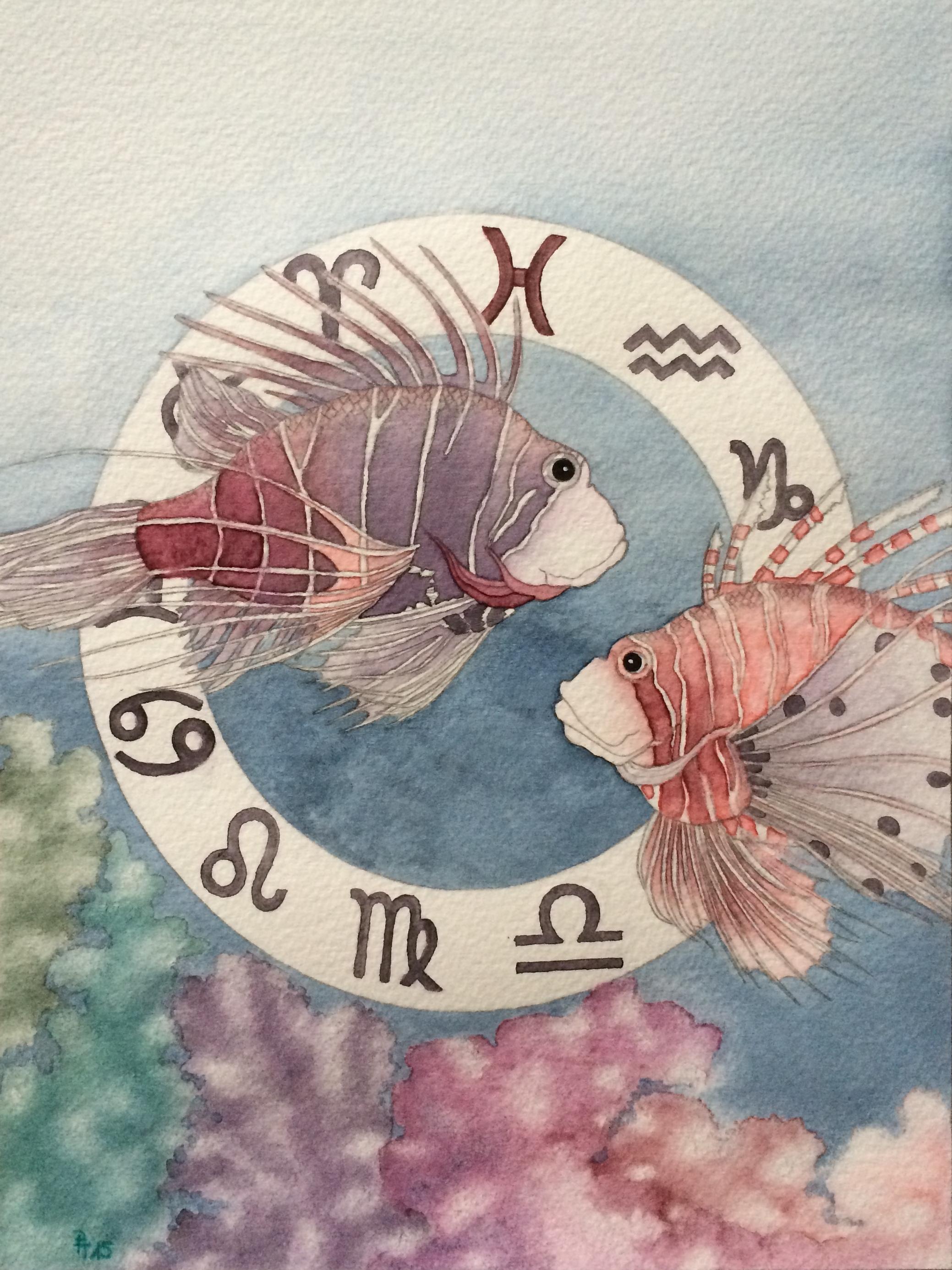 Sternzeichen Fische (zu verkaufen)