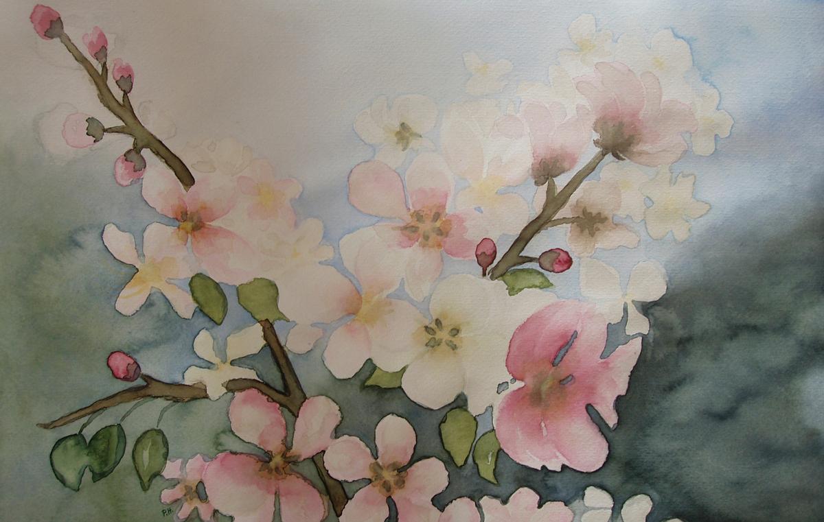 Apfelblüten 1 (verkauft)