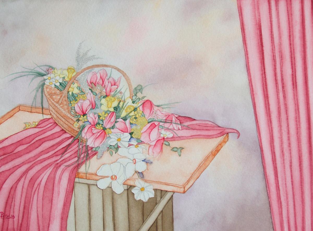 Blumenkorb (verkauft)