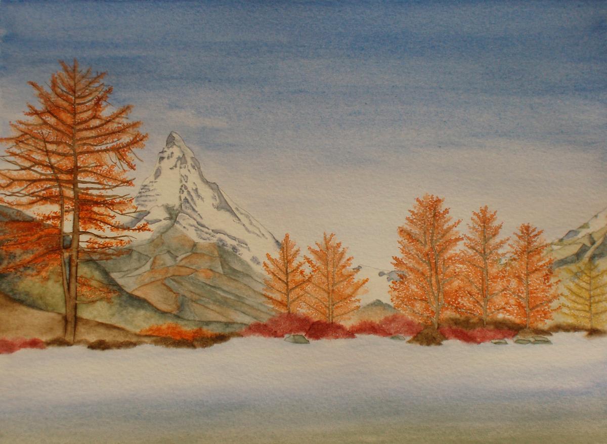 Matterhorn (nicht verkäuflich)