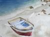 Boot am Strand (zu verkaufen)