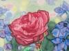 Rose mit Rittersporn (nicht verkäuflich)